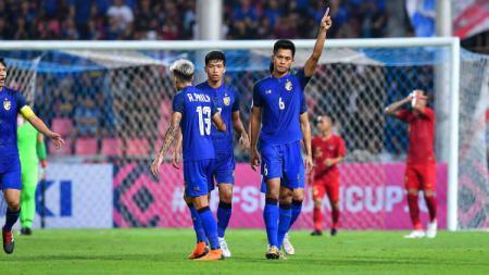 Thailand sesumbar bisa mengalahkan Indonesia dengan mudah di Kualifikasi Piala Dunia 2022. - INDOSPORT