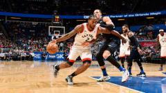 Indosport - Toronto Raptors vs Orlando Magic.