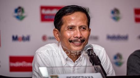Kepala pelatih Barito Putera Djadjang Nurdjaman mempunyai rekor mentereng ketika melawan mantan tim, termasuk bakal jumpa Persib Bandung. - INDOSPORT