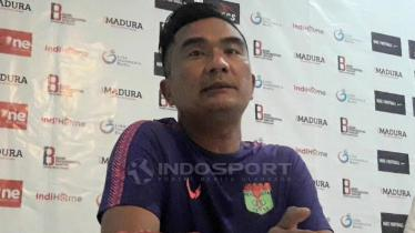 Pelatih Persita Tangerang, Wiganda Saputra.