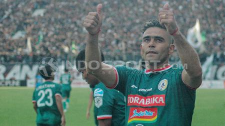 Pemain PSS Sleman, Cristian Gonzales - INDOSPORT