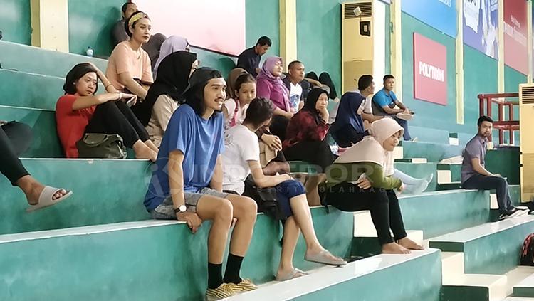 Vokalis Sheila On 7 Hadir di Kejuaraan Sirnas 2018 Copyright: Fitra Herdian/Indosport