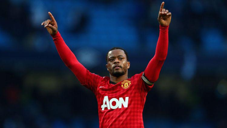Mantan Pemain Manchester Untied, Patrice Evra Copyright: The Busby Babe