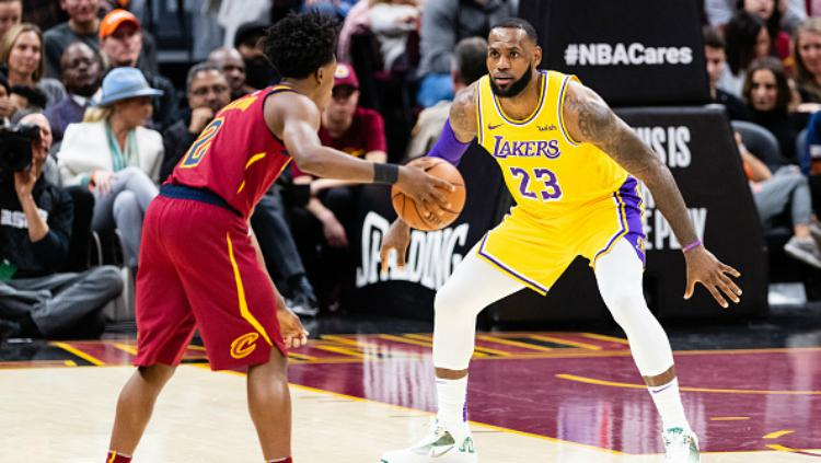 Los Angeles Lakers v Cleveland Cavaliers Copyright: INDOSPORT