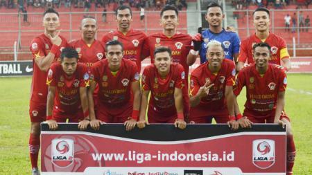 Skuat Kalteng Putra di Liga 2 2018. - INDOSPORT