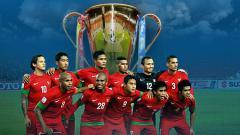 Indosport - Skuat Timnas Indonesia di Piala AFF