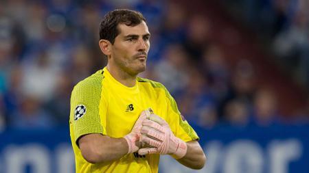 Iker Casillas yang kini bermain untuk FC Porto. - INDOSPORT