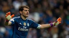 Indosport - Iker Casillas, saat masih bermain di Real Madrid.