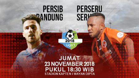 Pertandingan Persib Bandung vs Perseru Serui alami perubahan jadwal. - INDOSPORT