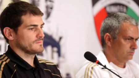 Iker Casillas menyebut 3 pelatih yang menginspirasinya selama berada di Real Madrid. Apakah termasuk Jose Mourinho? - INDOSPORT