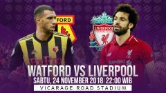 Indosport - Prediksi pertandingan Watford vs Liverpool