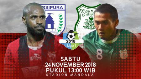 Prediksi pertandingan Persipura Jayapura vs PSMS Medan. - INDOSPORT