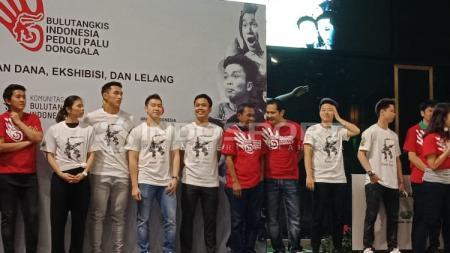 Para Kontingen Bulutangkis Indonesia. - INDOSPORT