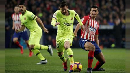 Atletico Madrid selaku lawan main Barcelona di semifinal Supercopa de Espana dipastikan akan sepi pendukung karena satu hal. - INDOSPORT