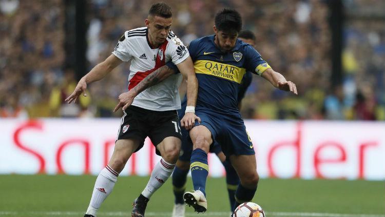 River Plate vs Boca Juniors. Copyright: Twitter.com/BocaJrsOfficial