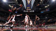 Indosport - Cleveland Cavaliers vs Houston Rockets.