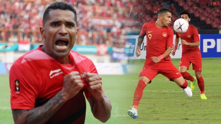 Beto Goncalves striker Timnas Indonesia. Copyright: INDOSPORT/Istimewa