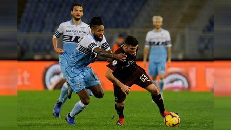 Jalannya laga Lazio vs AC Milan, Minggu (25/11/18) malam waktu setempat. - INDOSPORT