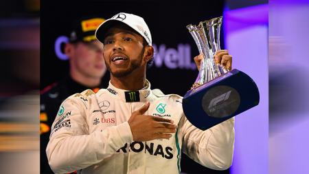 Lewis Hamilton juara di GP Abu Dhabi - INDOSPORT