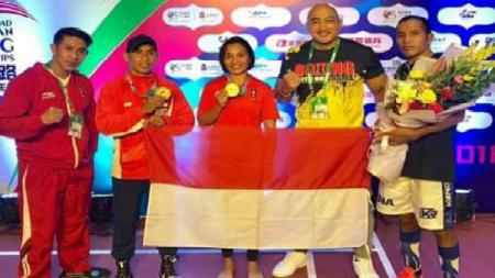 Petinju Indonesia raih dua medali emas di China. - INDOSPORT