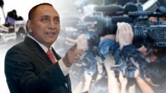 Indosport - Edy Rahamayadi ketum PSSI