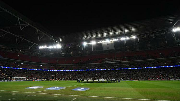 Stadion Wembley. Copyright: Daily Mail