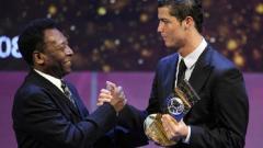 Indosport - Kemampuan Ronaldo dikatakan mirip dengan Pele