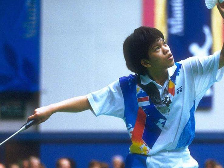 Mia Audina, pebulutangkis Indonesia yang memilih jadi warga negara Belanda. Copyright: Olympic.org