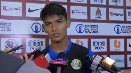 Shahrel Fikri Md. Fauzi, striker Timnas Malaysia yang bermain di Liga Thailand - INDOSPORT