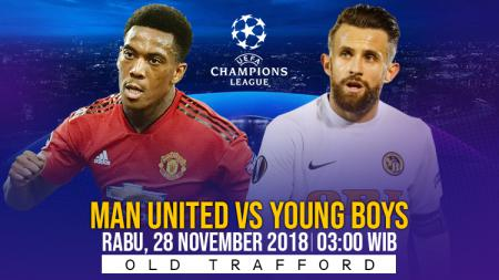 Prediksi pertandingan Liga Champions antara Manchester United vs Young Boys - INDOSPORT