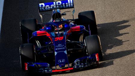 Tim satelit Scuderia Toro Rosso akan menurunkan Naoki Yamamoto sebagai pembalap pengganti Pierre Gasly di sesi latihan bebas pertama atau Free Pratice (FP1) GP Jepang. - INDOSPORT