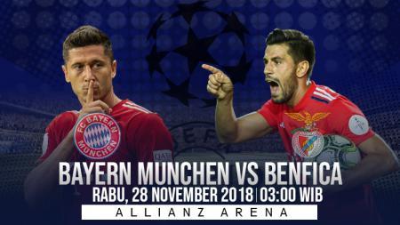 Prediksi pertandingan Bayern Munchen Vs Benfica - INDOSPORT