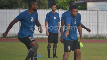 Beto Goncalves sudah jalani latihan bersama skuat Sriwijaya FC. - INDOSPORT