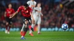 Indosport - Marcus Rashford dalam pertandingan Liga Champions antara Manchester United vs Young Boys.