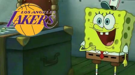 Pencipta film Spongebob, Stephen Hillenburg termasuk penggemar LA Lakers. - INDOSPORT