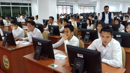 Para Atlet Bulutangkis Indonesia saat sedang ikut tes CPNS - INDOSPORT