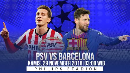 Prediksi pertandingan PSV Vs Barcelona - INDOSPORT