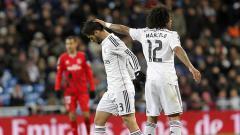 Indosport - Marcelo dan Isco, 2 pemain Real Madrid.