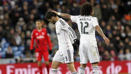 Marcelo dan Isco, 2 pemain Real Madrid. - INDOSPORT