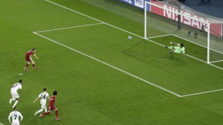 Ilustrasi tendangan penalti. - INDOSPORT