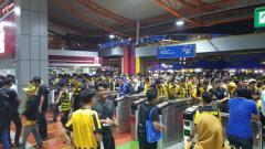 Indosport - LRT Bukit Jalil yang diperpanjang operasinya hingga dini hari