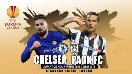 Prediksi Chelsea vs PAOK FC. - INDOSPORT