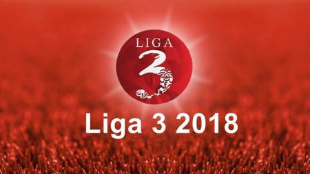 Logo Liga 3 2018. - INDOSPORT