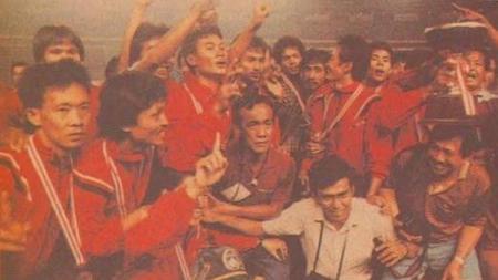 PSM Makassar juara Perserikatan 1992. - INDOSPORT
