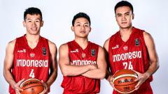 Indosport - Timnas Basket Indonesia di pra-kualifikasi FIBA Asia Cup 2021.