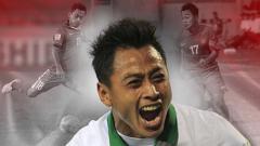 Indosport - Striker Barito Putera, Samsul Arif.