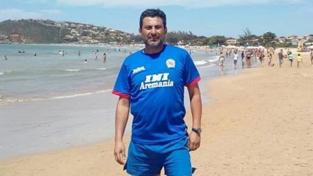 Legenda Arema FC asal Chile, Juan Rubio. - INDOSPORT