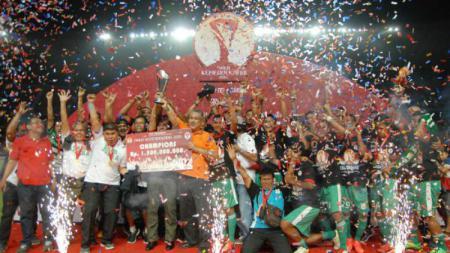 PSMS Medan saat menjuarai Piala Kemerdekaan. - INDOSPORT