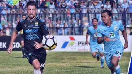 Jonathan Bauman saat masih berseragam Persib Bandung. - INDOSPORT