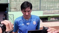 Indosport - Milan Petrovich, pelatih Arema FC.